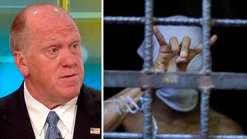 Acting ICE director blasts Democrats for not taking on MS-13.
