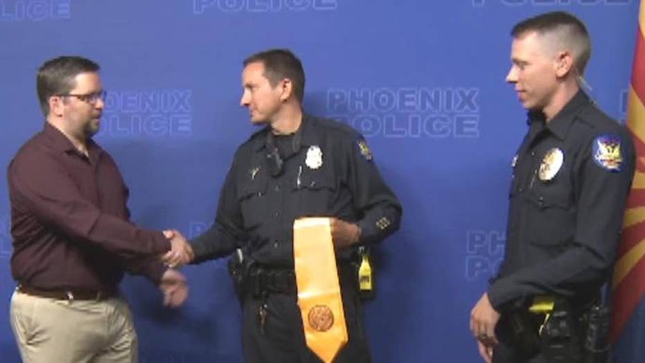 Veteran thanks officers who talked him down from suicide