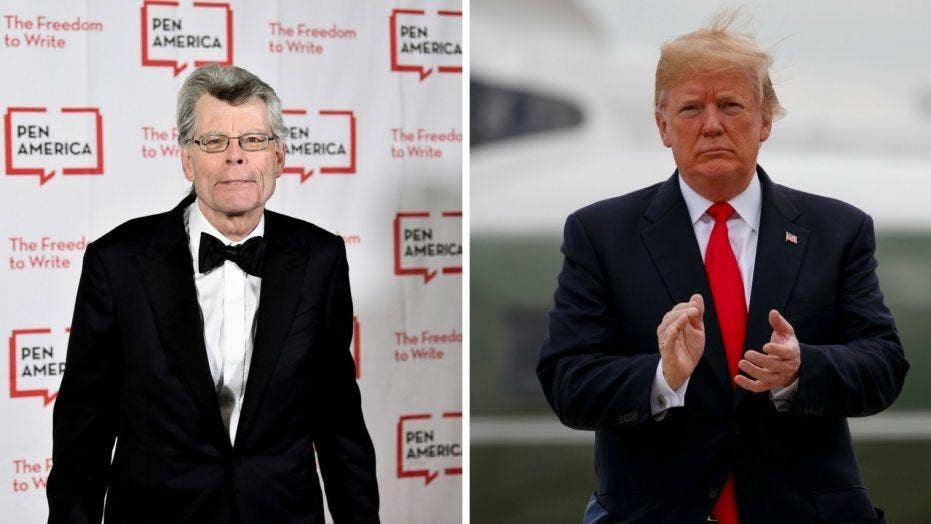 Stephen King explains why Trump blocked him on Twitter