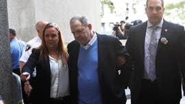 Harvey Weinsteinwore a special chain of three sets of handcuffs to accommodate his wide waistline — and then still whined that the cuffs were too tight, law-enforcement sources told The Post on Friday.
