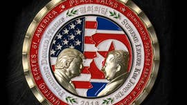 Collectors jumping on Thursday's news that President Trump canceled its long-anticipated meeting with North Korea's Kim Jong Un crashed the White House Gift Shop website trying to buy the post-summit coin.