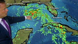 The governors of Alabama, Florida and Mississippi have each declared a state of emergency in their states as Subtropical Storm Alberto spreads north and west.