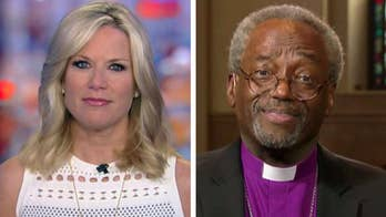 Reverend Michael Curry discusses his message of love on 'The Story' after stealing the show at the wedding of Prince Harry and Meghan Markle.