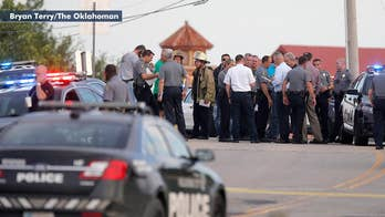 Two people wounded in shooting during a child's birthday party at a popular Oklahoma restaurant; William La Jeunesse reports.