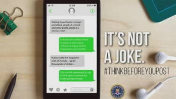 New 'Think Before You Post' campaign looks to curb hoax threats on social media.