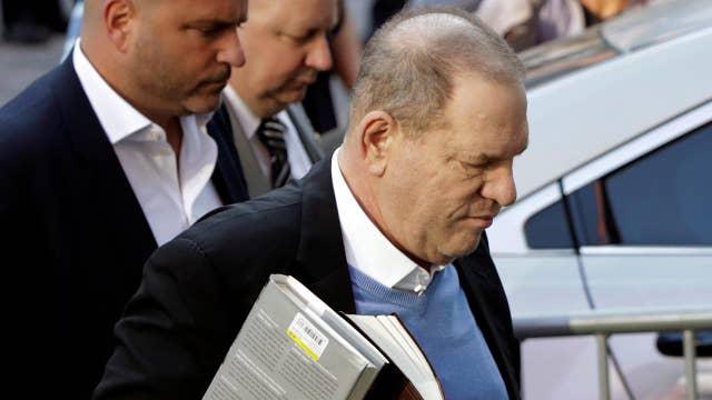 Harvey Weinstein turns himself into NYPD