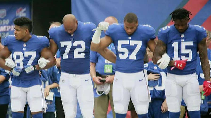 NFL players looking into different responses to new national anthem rules.