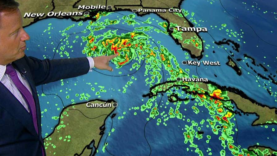 Subtropical storm Alberto is the first tropical weather system of the 2018 hurricane season and could bring heavy rain to Florida and the Gulf Coast; chief meteorologist Rick Reichmuth reports from the Fox Extreme Weather Center.