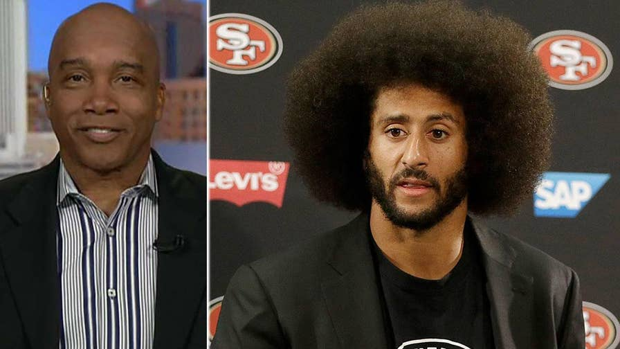 Groups protest at NFL headquarters for players' 'right to kneel' after NFL team owners unveil new anthem policy; Fox News contributor Kevin Jackson has insight.