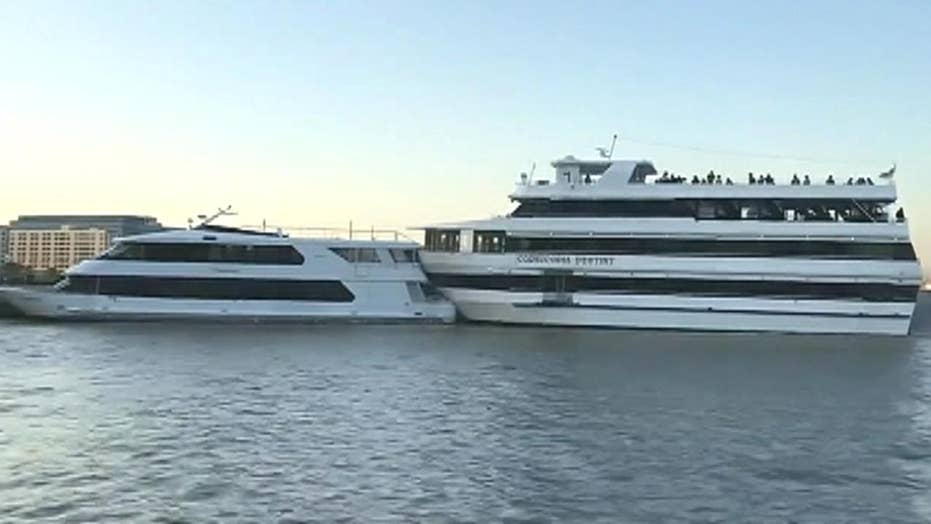Party boat crashes into yacht hosting a prom