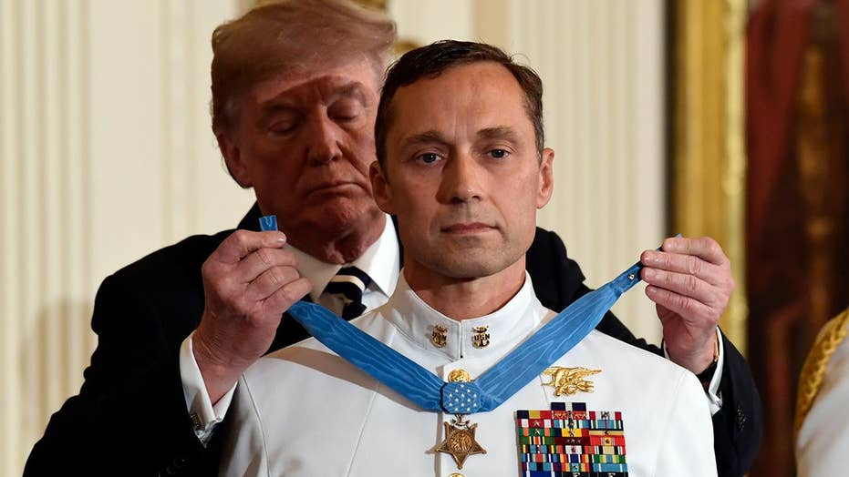 Navy SEAL awarded Medal of Honor for controversial mission