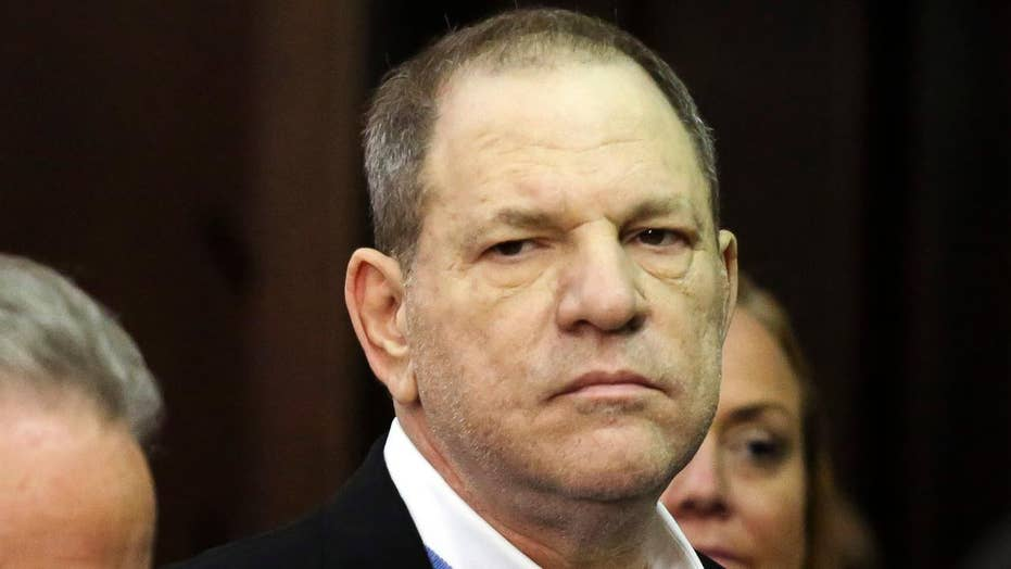 Harvey Weinstein charged with rape, other felony sex crimes