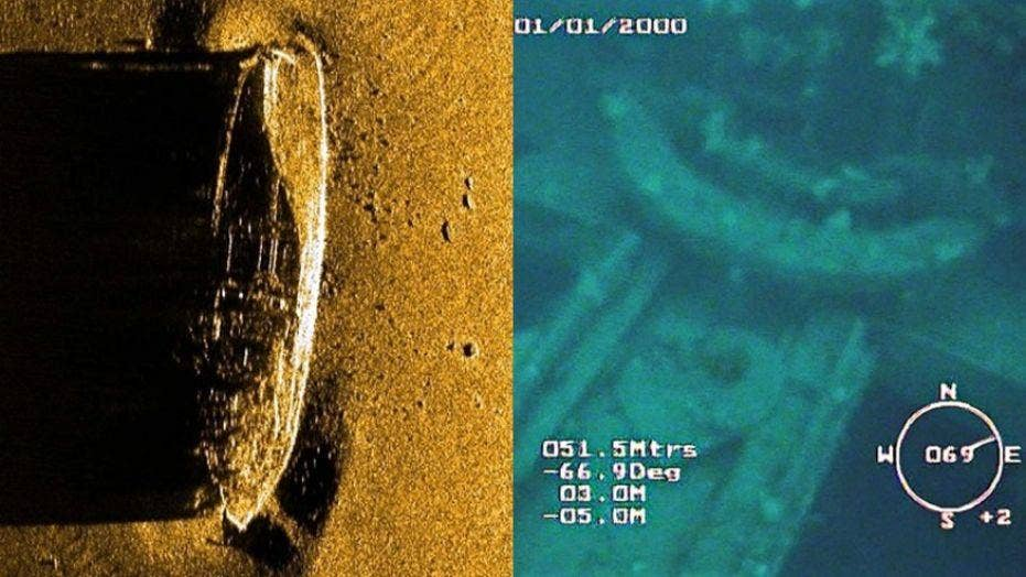Missing World War II ship found 74 years later