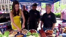 Memorial Day weekend 'Fox & Friends' barbeque bash features food from Red Hot & Blue and Butcher Bar.