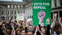 Irish voters approved the repeal of the abortion ban by over 66 percent; Kitty Logan reports.