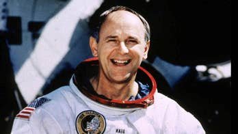 Alan Bean and fellow astronaut Pete Conrad explored the lunar surface during the second moon landing in 1969.