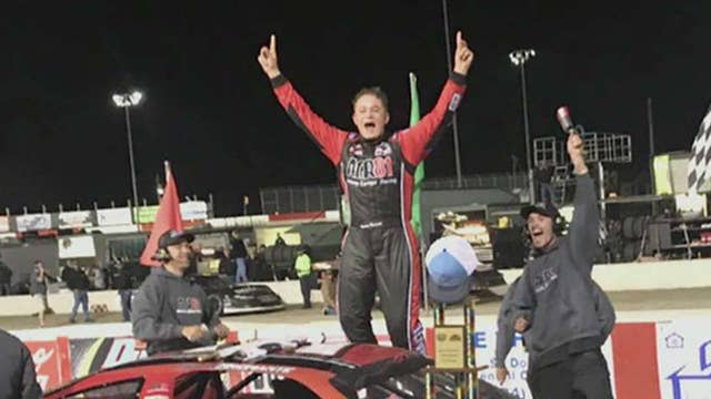 NASCAR prodigy winning races at just 14 years old