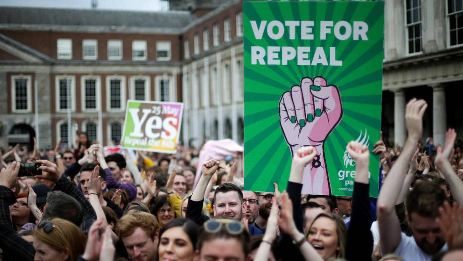 Ireland votes to repeal constitutional ban on abortions