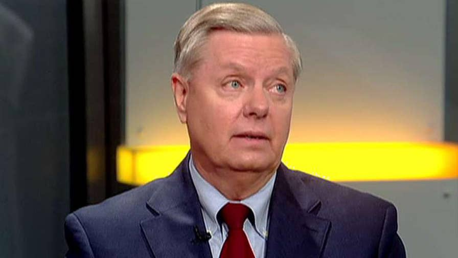 Senator Lindsey Graham says on 'Justice with Judge Jeanine' that President Trump will put an end to threats from North Korea.