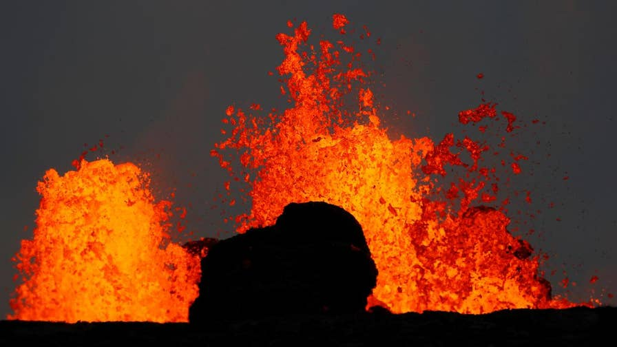 Lava flow from Hawaii's Kilauea volcano has crossed onto the property of a geothermal plant, raising concerns that wells at the plant could be ruptured.