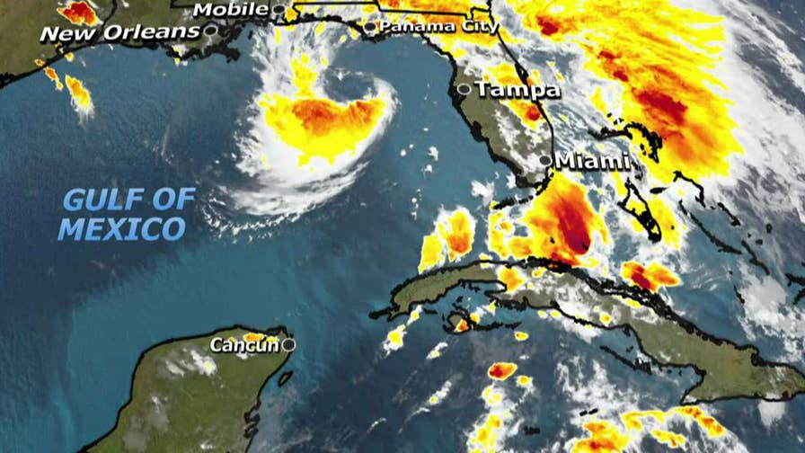 Florida, Alabama and Mississippi declare states of emergency; Jonathan Serrie reports from Florida.