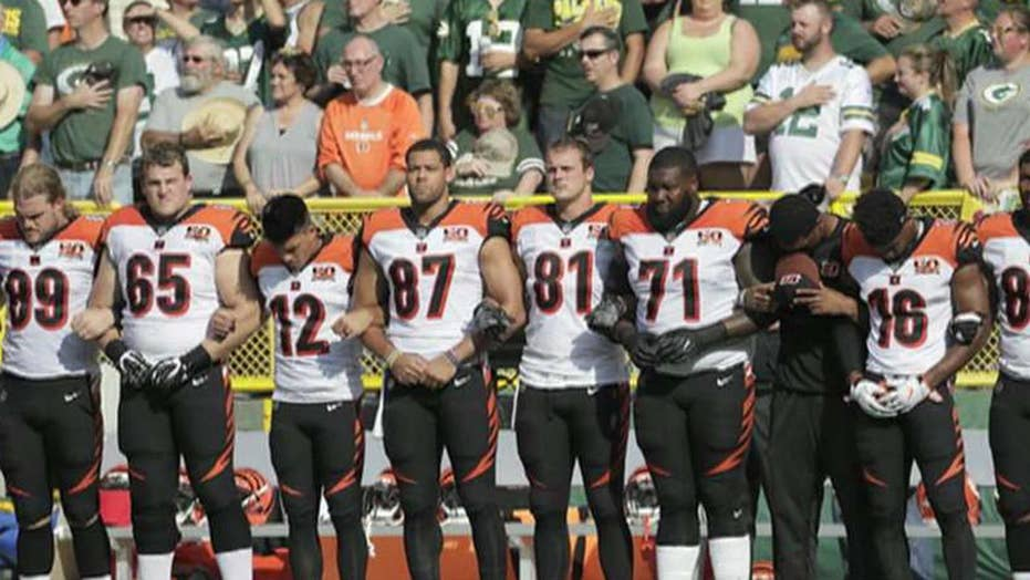NFL: All personnel on field must stand for the anthem