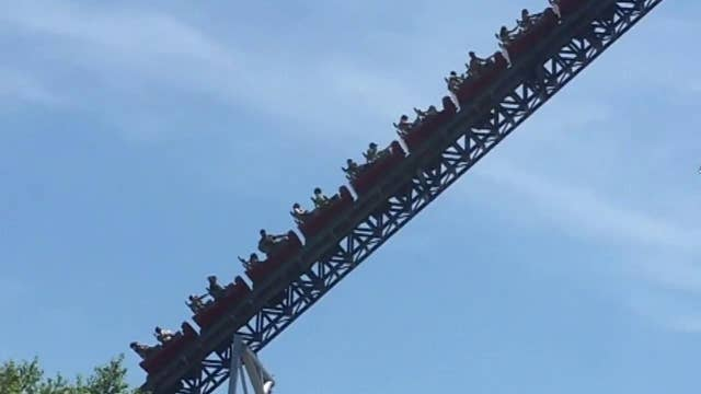Power outage strands riders on roller coaster in Ohio