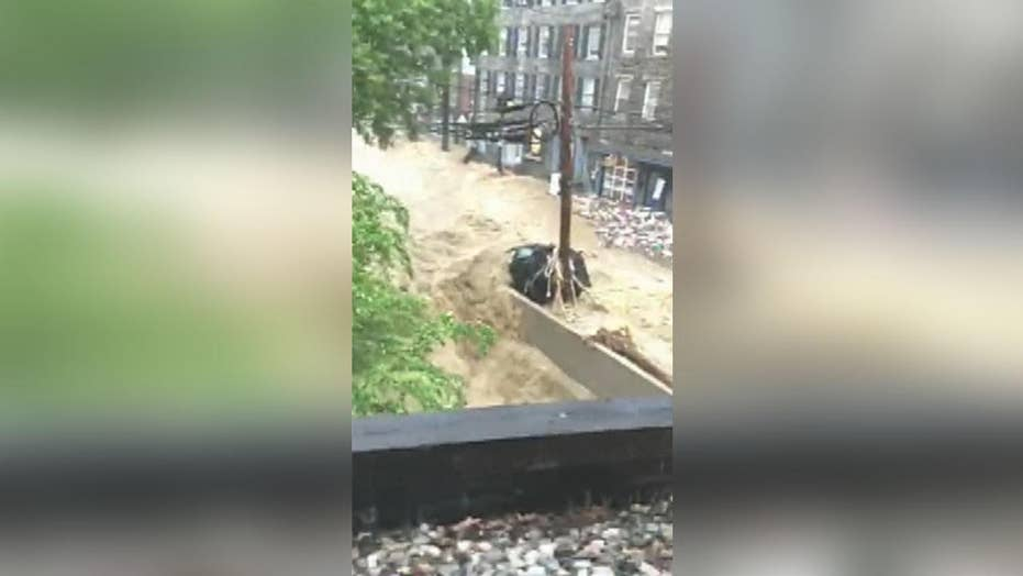 Catastrophic flash flood strikes Maryland