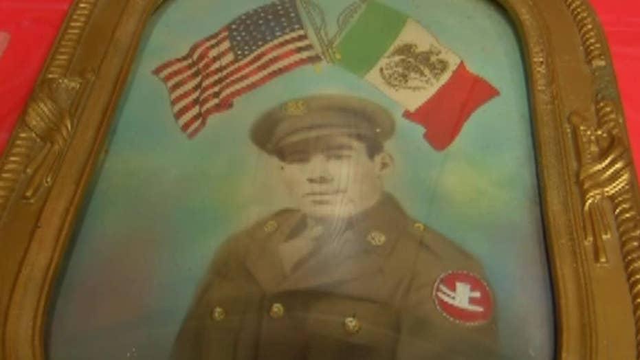 WWII veteran receives posthumous Purple Heart