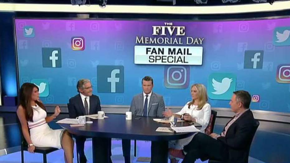 Memorial Day Fan Mail special on 'The Five'