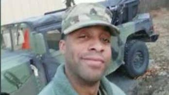 National Guardsman was last seen trying to help a woman in Maryland.