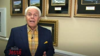 """Jesse Duplantis, a Louisiana-based televangelist, is asking his followers to donate money for a $54 million jet, that can """"go anywhere in the world in one stop."""""""