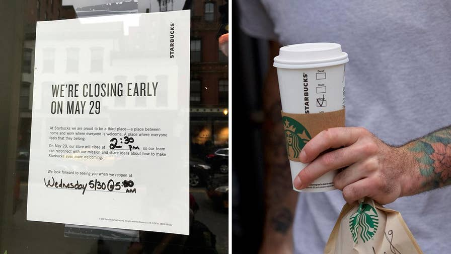8,000 Starbucks across the nation will receive racial-bias training. Bryan Llenas has the story.