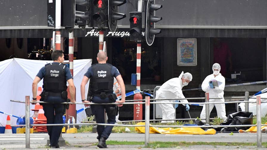 Belgian prosecutors: Deadly attack may be terror-related; gunman killed.