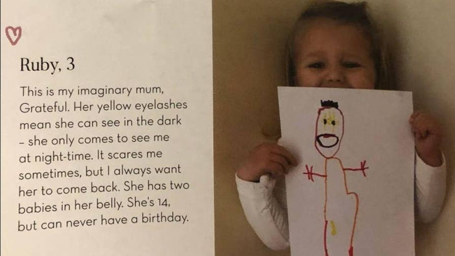 """Three-year-old Ruby's """"terrifying"""" description of her imaginary friend has the Internet convinced she's got a ghost haunting her."""