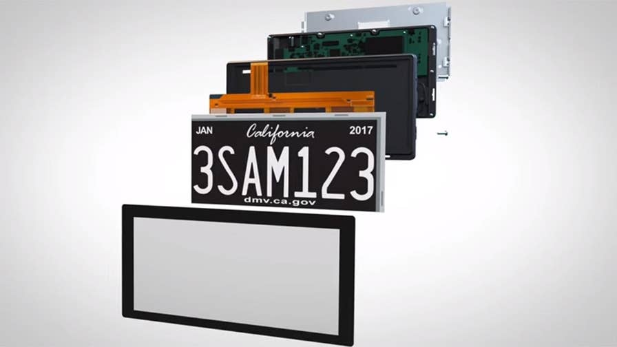California is testing digital license plates from Reviver Auto that let's car owners change messages and help alert other drivers to dangers.