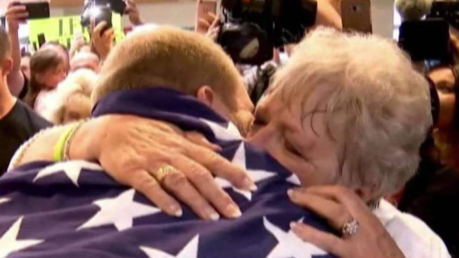 American freed from Venezuelan jail back home