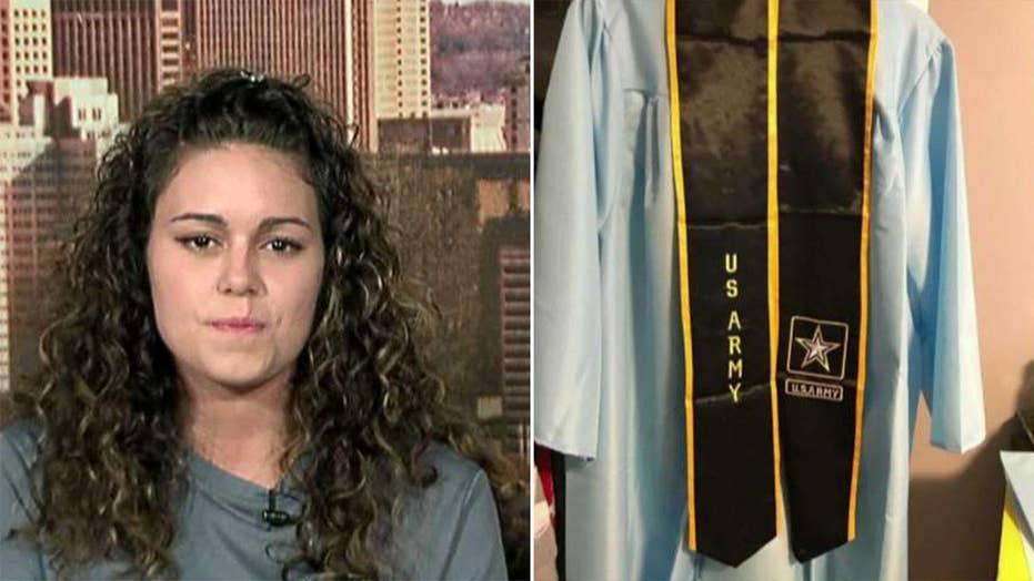 High school senior told not to wear Army sash