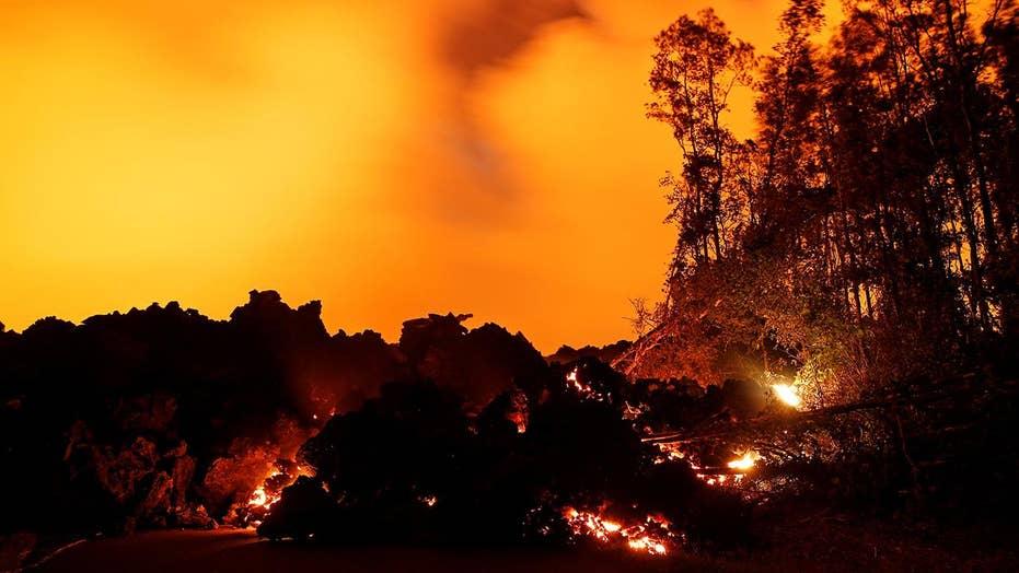 Kilauea eruption ravages dozens of homes in Hawaii