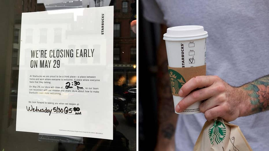 Starbucks to close stores for racial-bias training