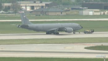 A military aircraft made an emergency landing in Milwaukee, Wisconsin.