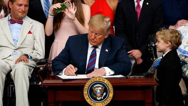 Marc Thiessen praises Trump for signing 'Right to Try Act'