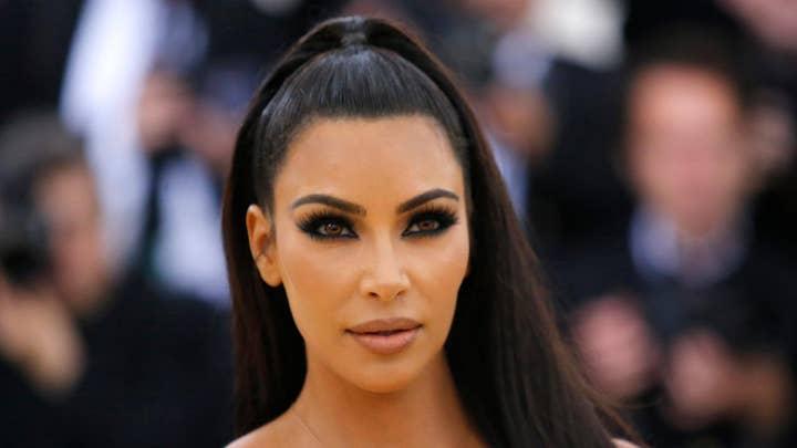 Kim Kardashian arrives at White House to talk prison reform