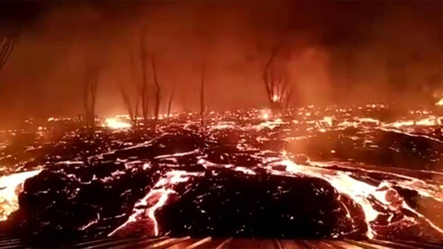 Erupting volcano threatens to destroy more homes and businesses on the Big Island.