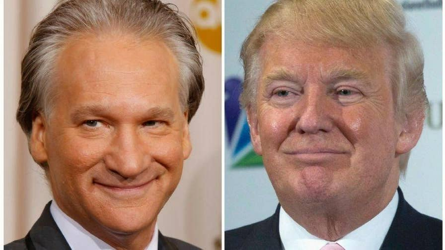 """""""Roseanne"""" fans have called on Bill Maher to be fired after he joked President Trump was part orangutan."""