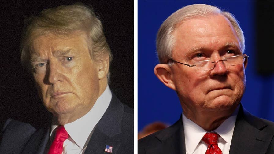 President Trump slams AG Jeff Sessions over recusal on Russia probe; Fox Business Network's Blake Burman has the latest.