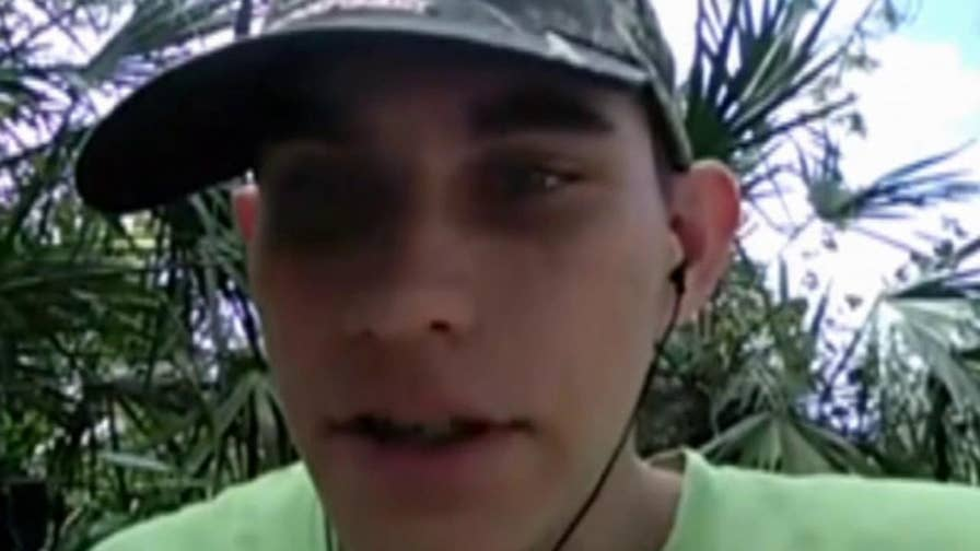 Accused school shooter Nikolas Cruz describes the impending attack on Marjory Stoneman Douglas High School in cellphone video released by prosecutors.
