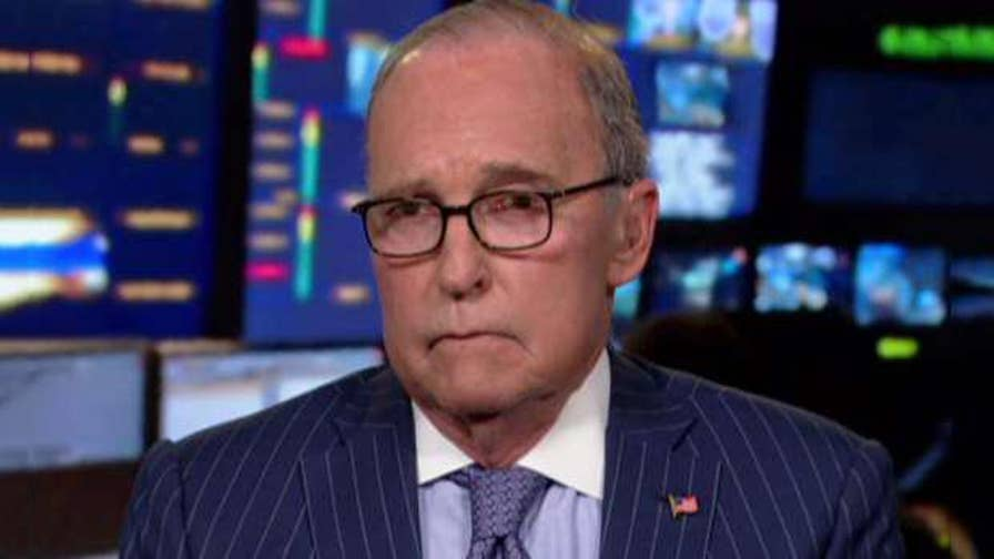 Director of the National Economic Council Larry Kudlow says President Trump is a 'change agent' on 'The Story.'