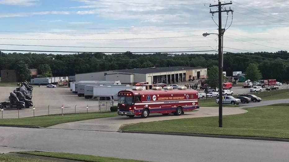 Explosion rips through UPS facility in Lexington, Kentucky