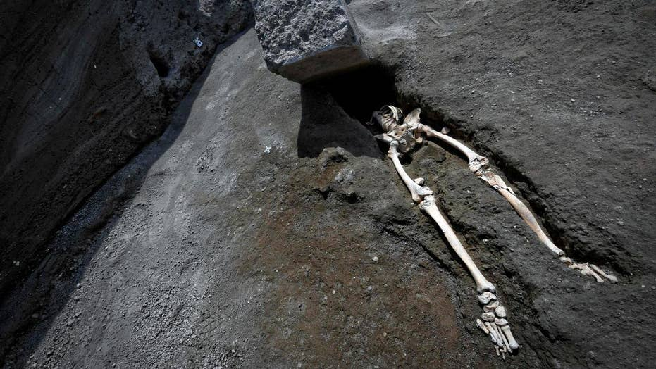660-pound flying stone killed a man in Pompeii